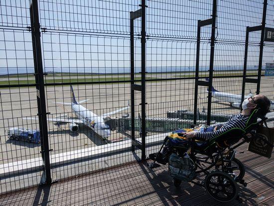 通院後に神戸空港に行ってみました!